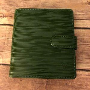 Louis Vuitton Epi compact leather bifold wallet